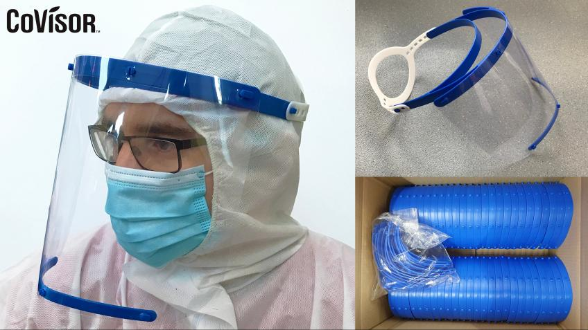 CoVisor: Mass-Produced Face Shields for the NHS