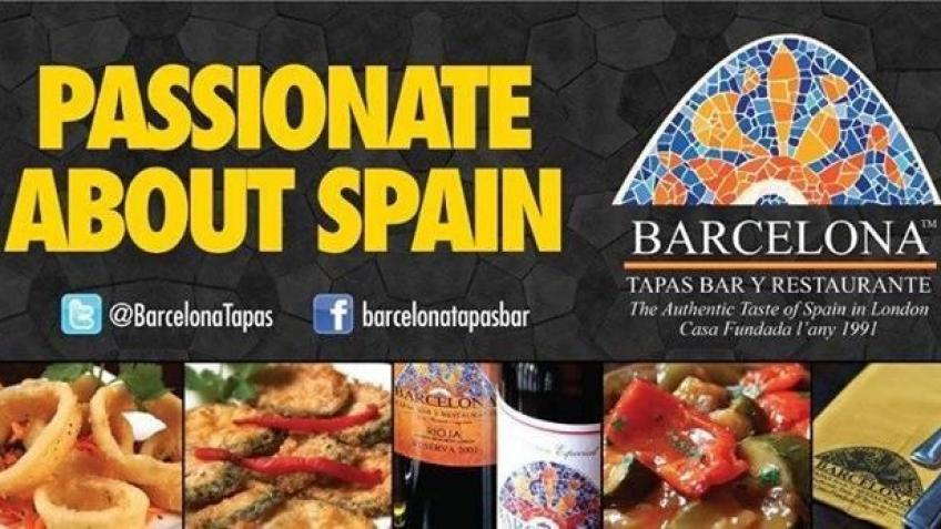 Support Barcelona Tapas - Prepaid Rewards