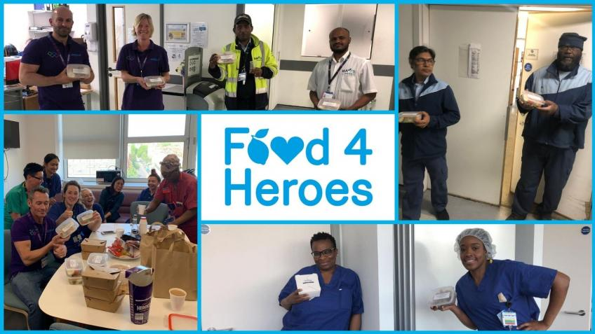 Food4Heroes London - Help Us Feed NHS Staff