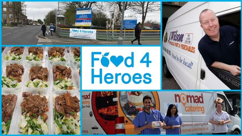Food4Heroes Yorkshire - Help Us Feed NHS Staff