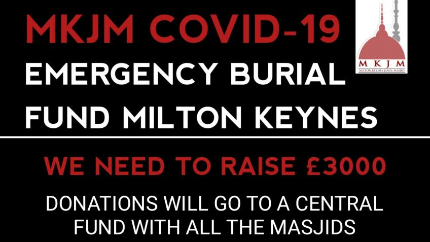 MKJM COVID-19 EMERGENCY BURIAL FUND MILTON KEYNES