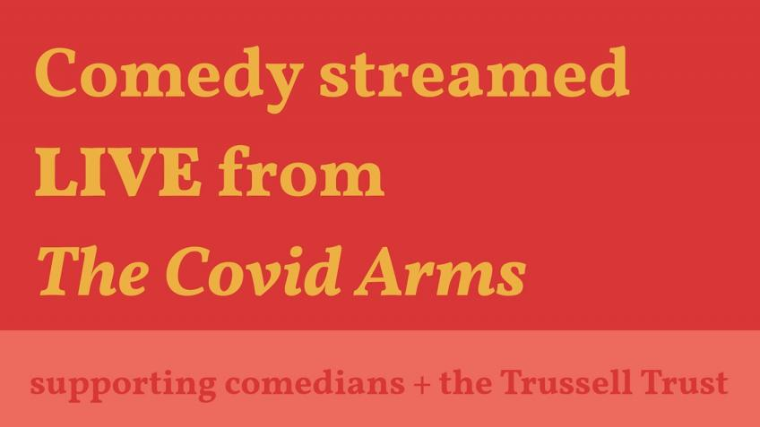 Comedy at The Covid Arms Sat 18 April