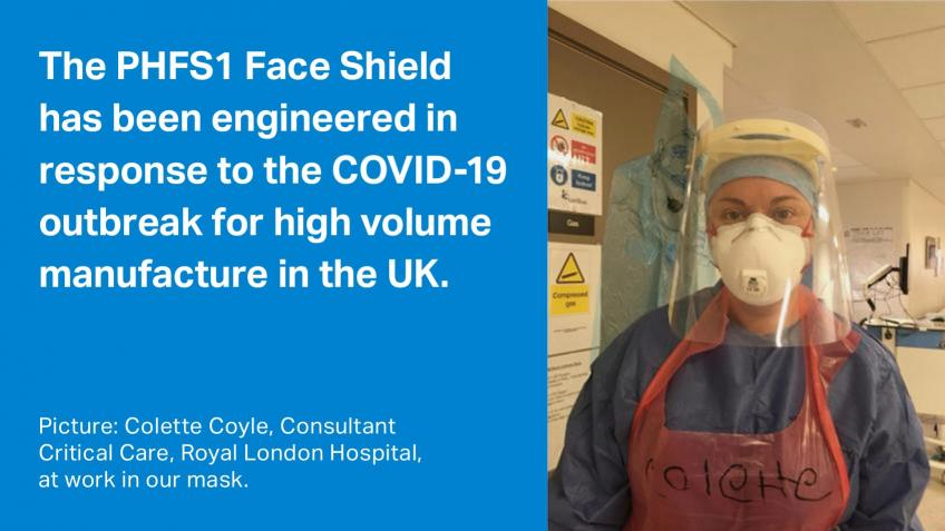 Protecting Heroes Face Shields for Front Line NHS