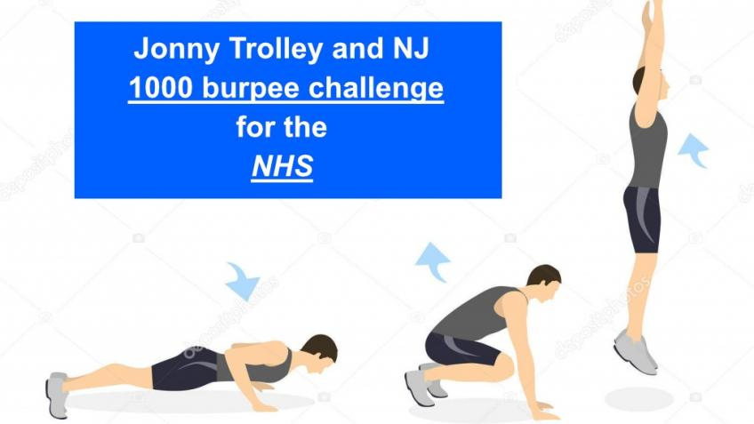 NJ and Jonny Trolley's 1000 Burpees