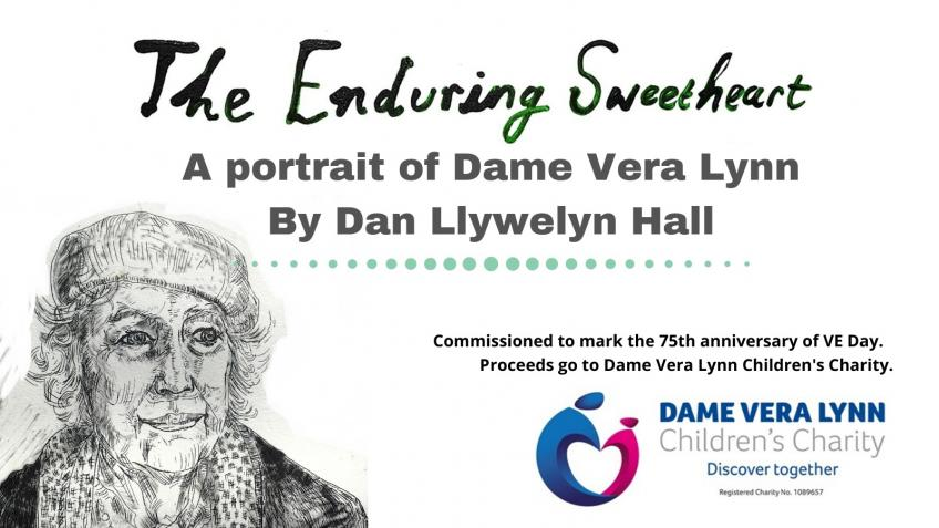 Dame Vera Lynn Children's Charity VE Day Portrait