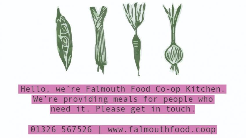 Falmouth Food Co-op Kitchen COVID-19 Response