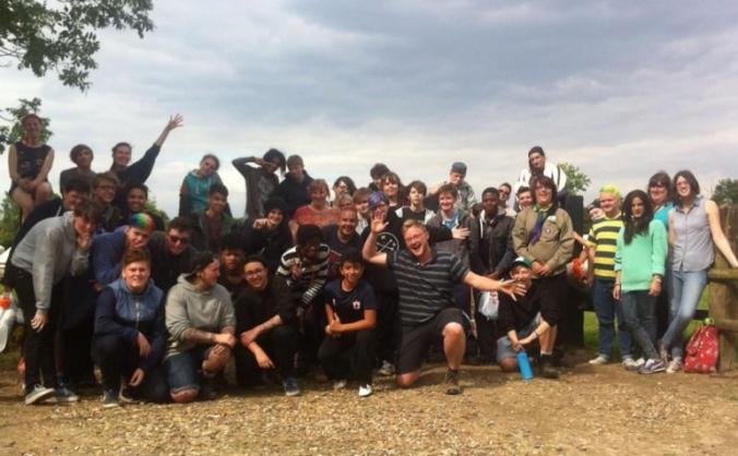 Transgender youth camping trip 2016 image