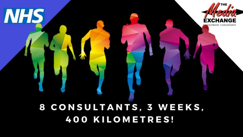 TheMediaExchange 400km Runathon for NHS equipment