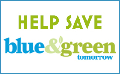 Save Blue and Green Tomorrow