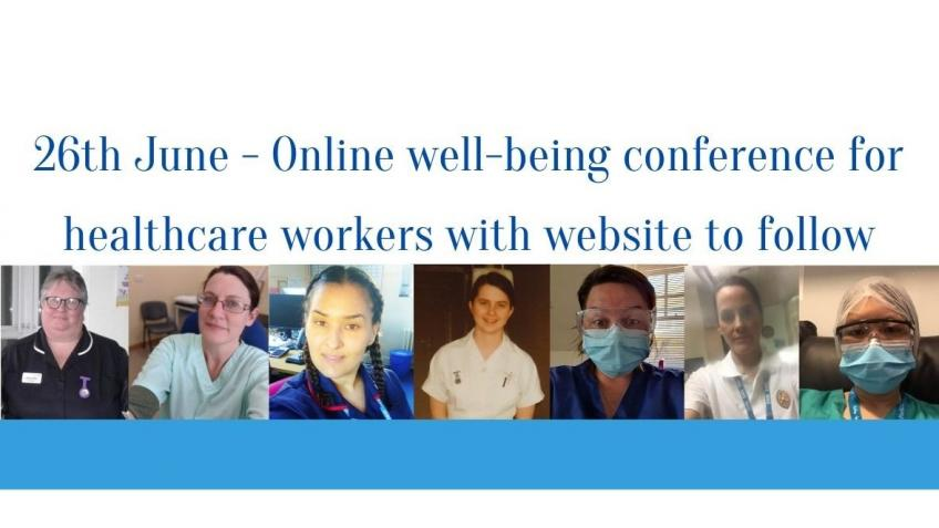 Well-being conference for healthcare staff