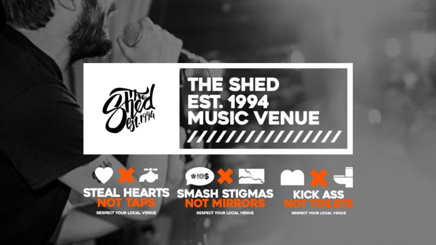 #SaveOurVenues - The Shed