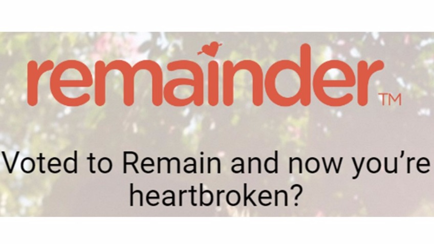 Remainder: Dating & social app for Remain voters