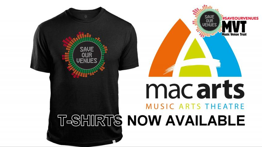 #SaveOurVenues - Mac Arts
