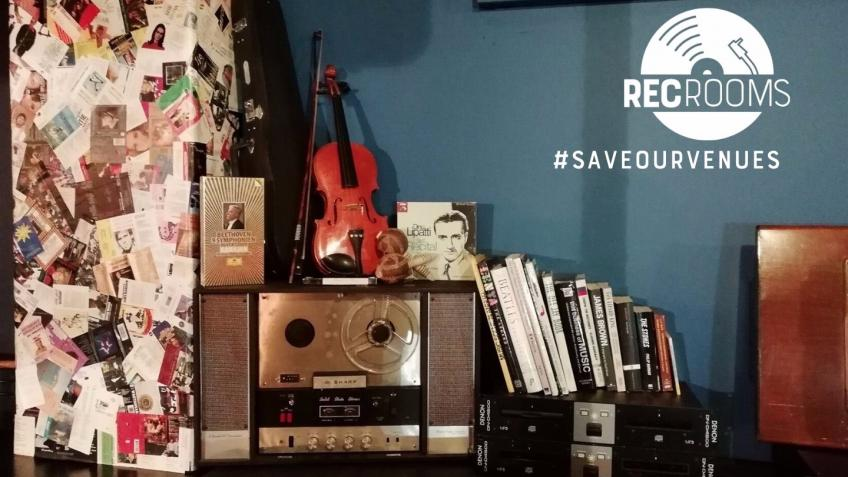 #SaveOurVenues - The REC Rooms