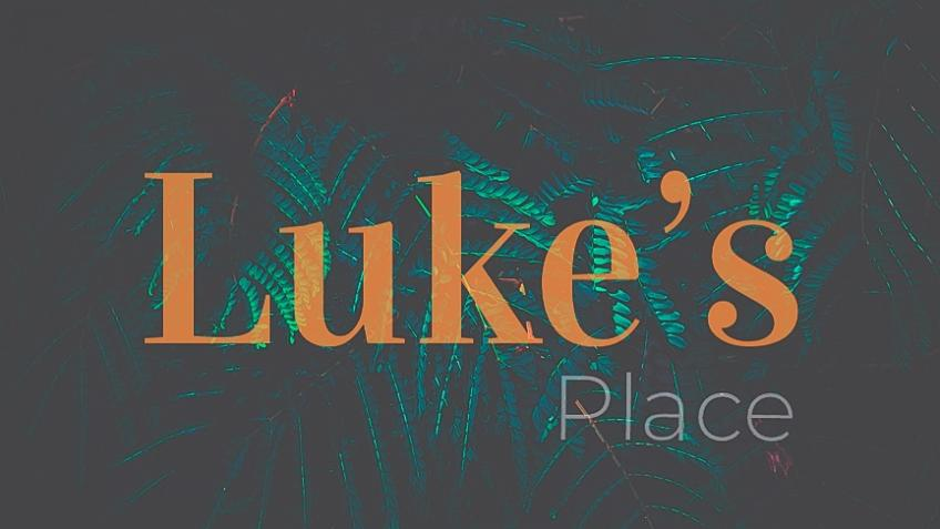 Support restaurant Luke's Place