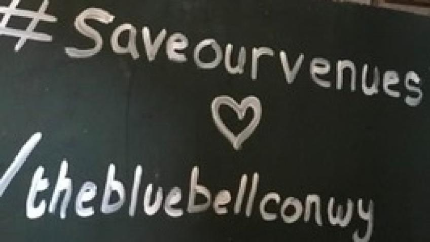#SaveOurVenues /thebluebellconwy