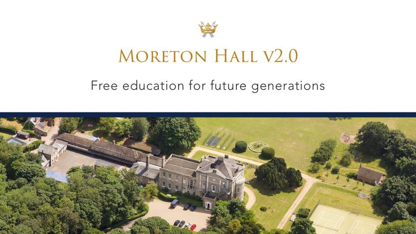 Build a new Education Space at Moreton Hall