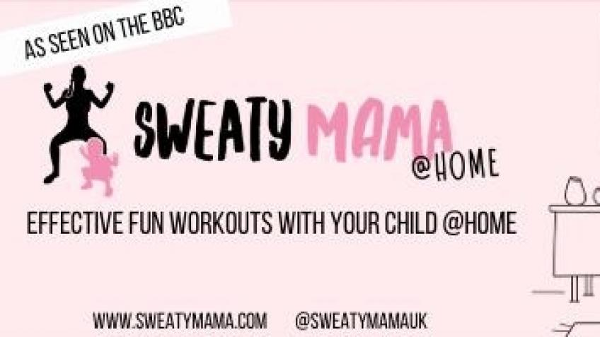 Sweaty Mama, stress busting exercise!