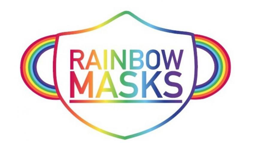 Rainbow Masks - Let's Protect Each Other