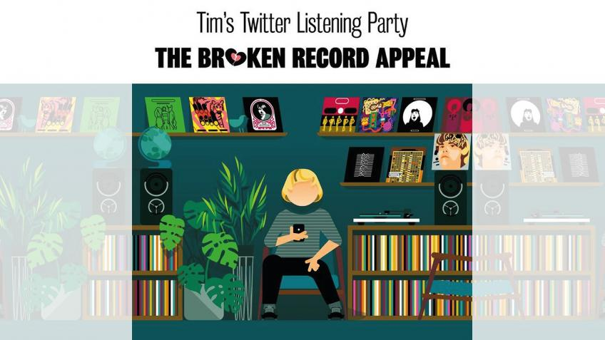 Tim's Twitter Listening Party #BrokenRecord Appeal
