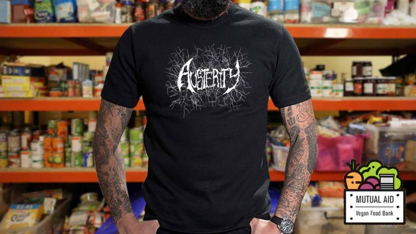 T-Shirt Fundraiser for Mutual Aid Vegan Food Bank