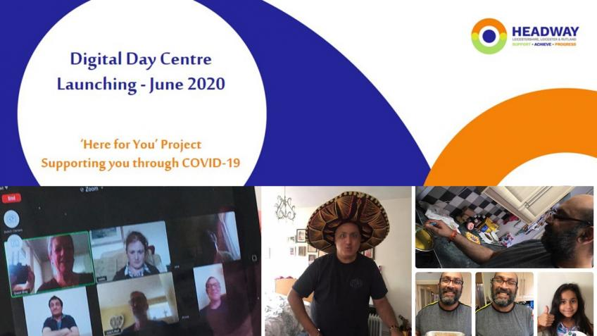 Digital Day Centre for brain injury survivors