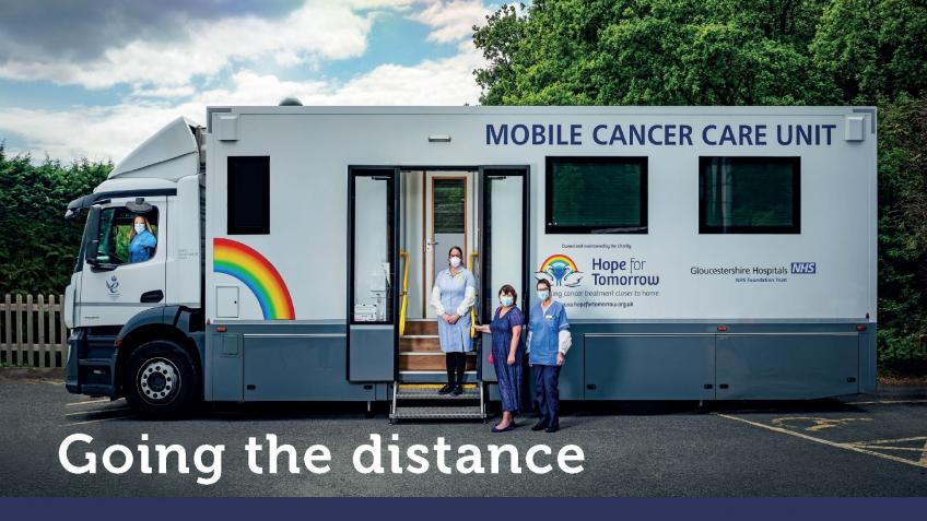 Going the Distance during COVID 19 - Cancer Care