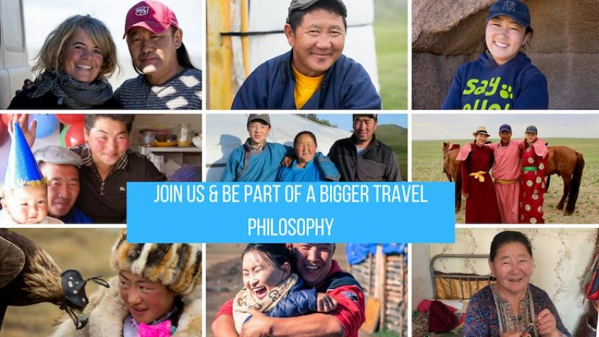 Be part of a bigger travel philosophy