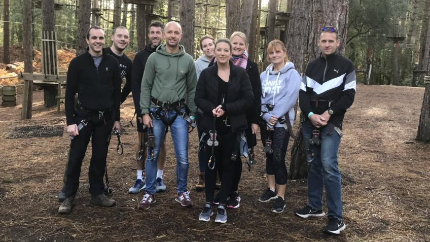 Outdoor Therapy to support NHS and Police Staff
