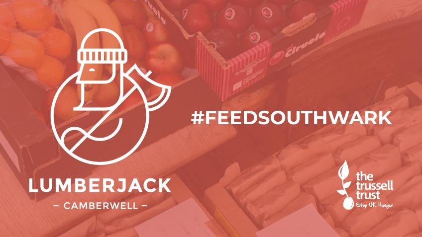 The Lumberjack & Southwark Foodbank link-up!