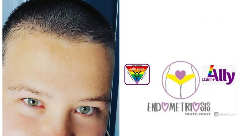 Jodies head shave! 29th May