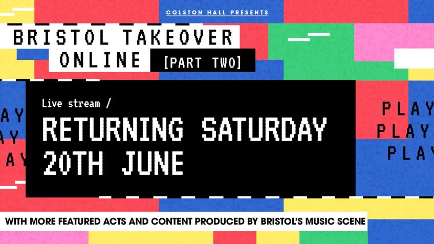 Bristol Takeover Online - Live Stream Sat 23 May