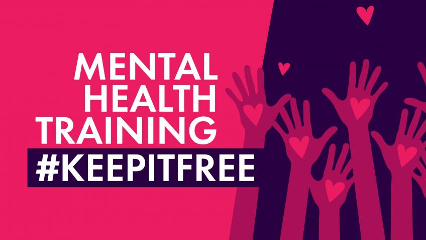Keep our mental health training free for all