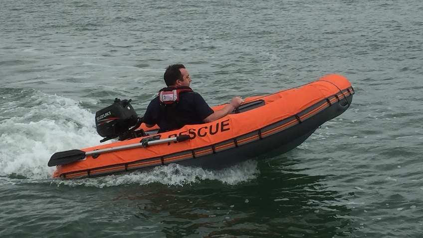 Hamble Lifeboat Shallow Water Rescue Craft