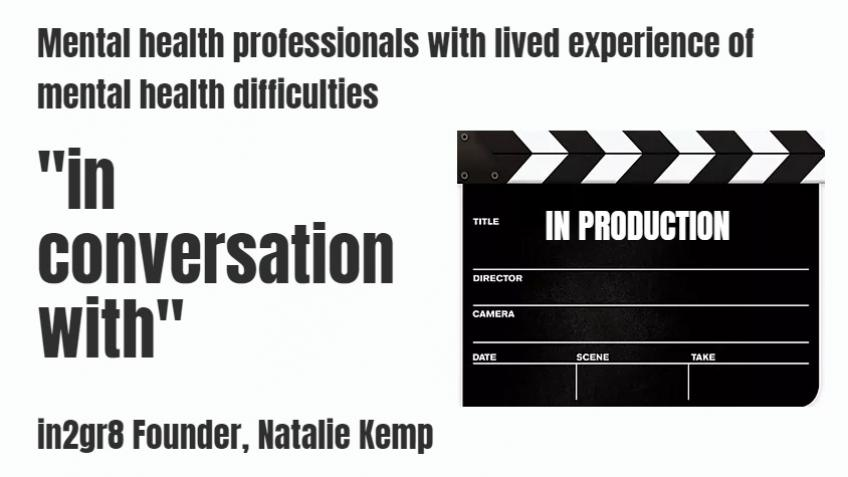 Production of the series: 'in conversation with'