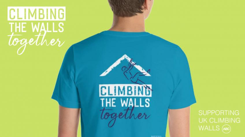 CLIMBING THE WALLS - supporting UK climbing walls