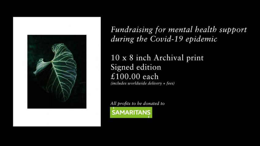 Photographic prints to help support mental health