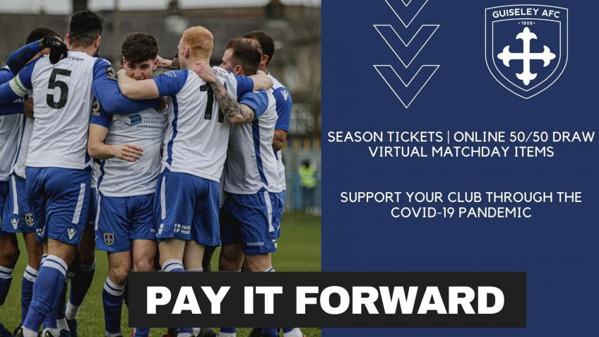 Guiseley AFC Pay It Forward #GuiseleyTogether