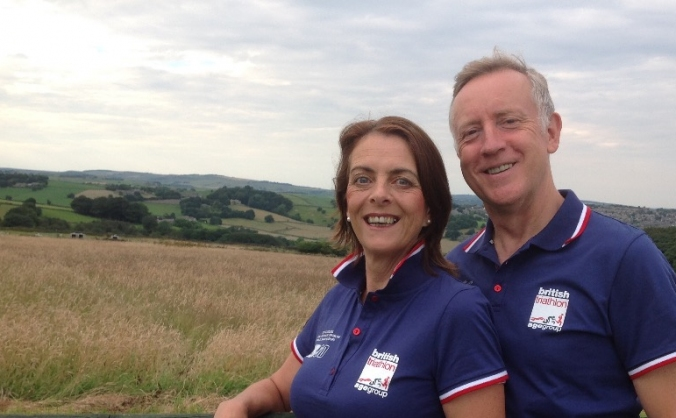 Send chrissie and mike to triathlon world champs image