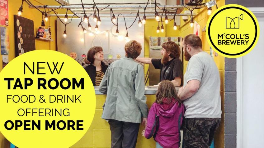 Lets make the tap room a brilliant place for all
