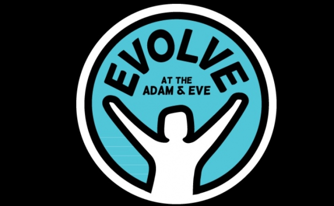 Evolve at the adam and eve image