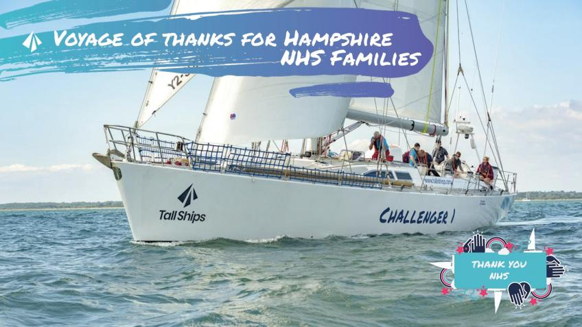 Voyage of thanks to Hampshire NHS Families