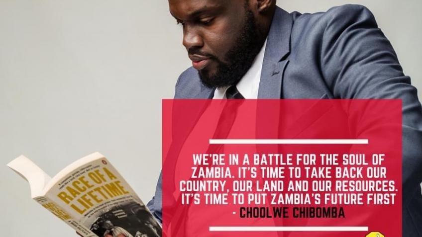 A 'NEW HOPE' for Zambia - Choolwe Chibomba
