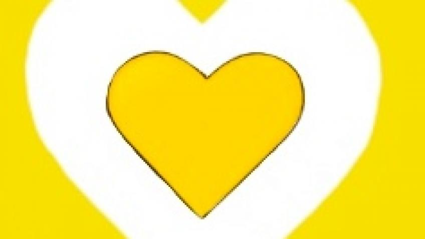 Remember Me Yellow Hearts
