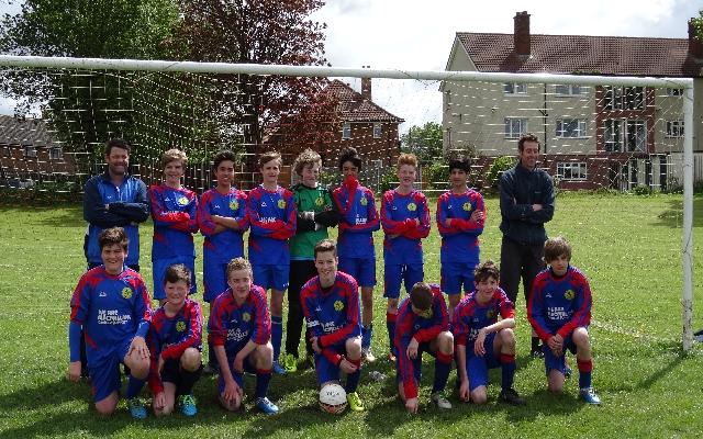 U15 Horsforth St Margarets Mustangs Football Club A
