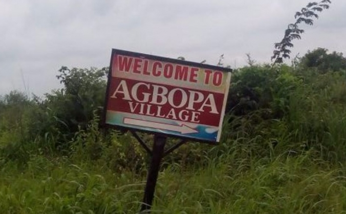 Agbopa village solar electric deployment image