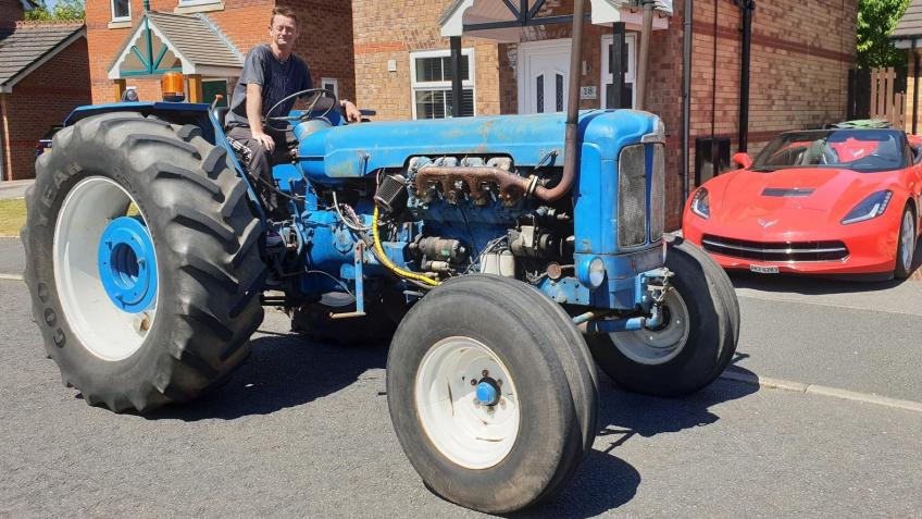 Tractor repairs for charity road runs