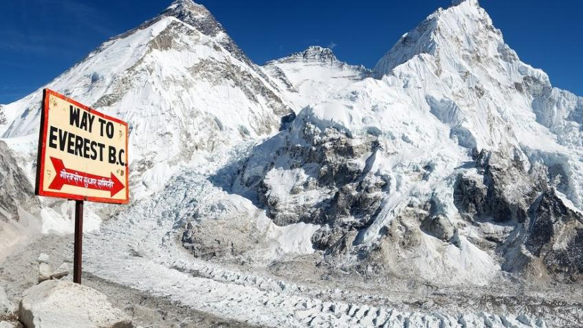 Race to Everest Basecamp