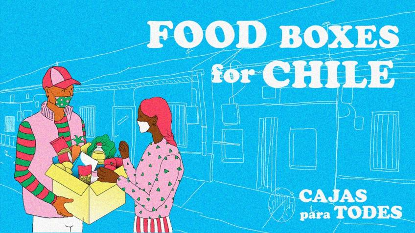 Food boxes for Chile - Cajas para todes