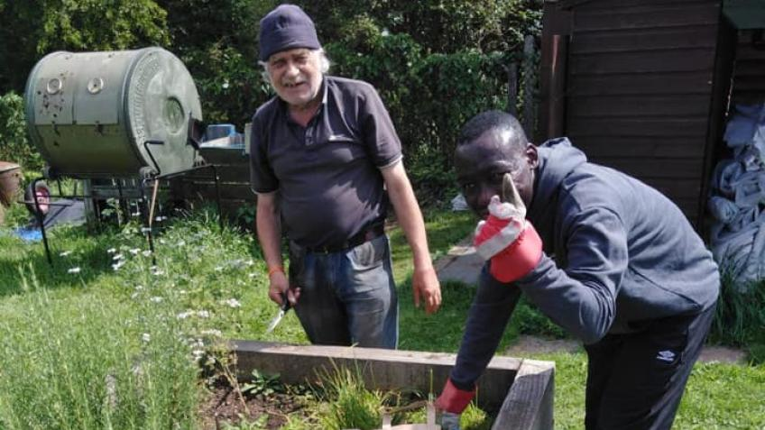 Support Roots - an award winning community garden